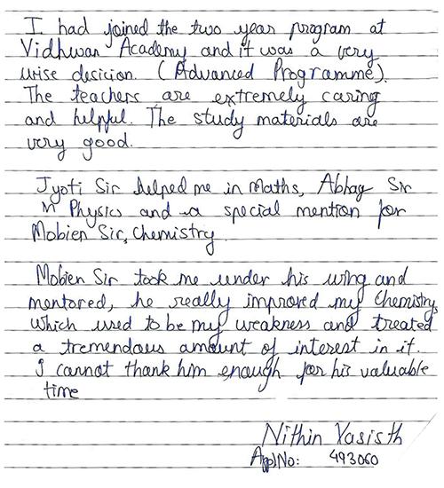 NITHIN VASISTH-2013
